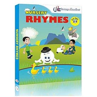 A2E Nursery Rhymes Educational CD