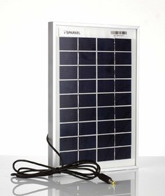 5W Solar Panel wWth One And Half Meter Long Wire For DC Connection