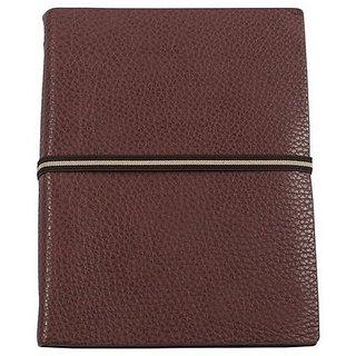 Viva Elasto Thermo PU Ringbinder Notebook (Coffee)
