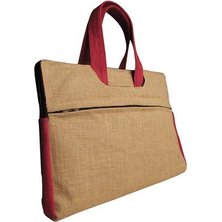 Indha Craft Organic Jute Laptop Bag