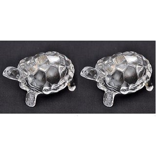 only4you Feng Shui Wish Crystal Glass Tortoise
