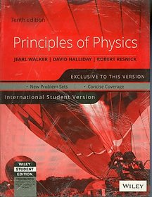 PRINCIPLES OF PHYSICS, 10TH ED, ISV