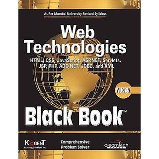 WEB TECHNOLOGIES, BLACK BOOK, AS PER MUMBAI UNIVERSITY REVISED SYLLABUS