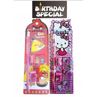 Buy Birthday Party Return Gifts Pack Of 24 Mix Stationery Kit Set For Kids