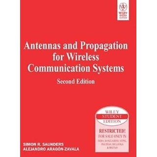 ANTENNAS AND PROPAGATION FOR WIRELESS COMMUNICATION SYSTEMS, 2ND ED available at ShopClues for Rs.759