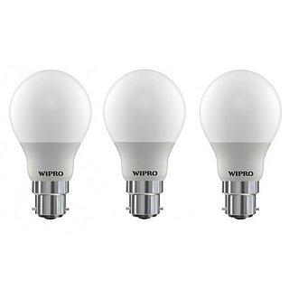 Wipro Garnet 5 Watt LED Bulb (Combo of 3)