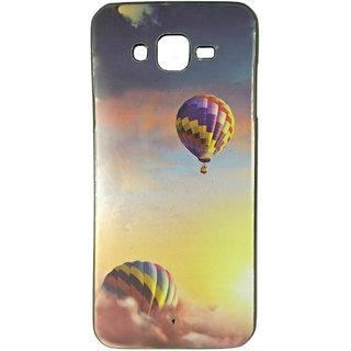 Samsung Galaxy J7 Printed Sparkle Multicolor