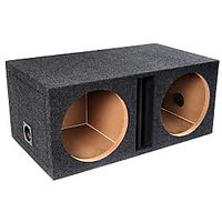 BOOM BOX FOR 12 SUB WOOFER SPEAKERS WITH HIGH QUALITY WOOD.