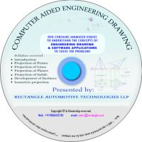 Computer Aided engineering Drawing video tutorial (CAED)