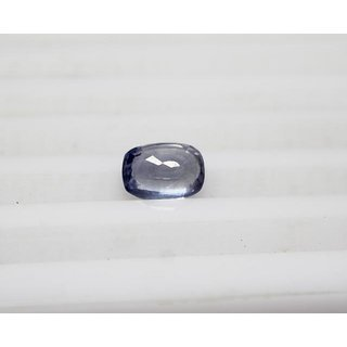 3.67 Carats Natural Blue Sapphire Burmese (Neelam) UnHeated  UnTreated by AstroGem.co.in