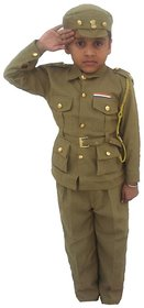 Indian Policeman Fancy Dress Costume For Kids