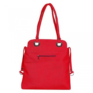 Fashno Ladies Hand Bag Red Colour (FB-RD-06)