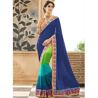 Sarees Presents This Multicoloured Saree
