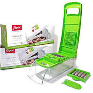 Apex Kitchen Master Vegetable Onion Fruit Chopper Dicer - Two Blade