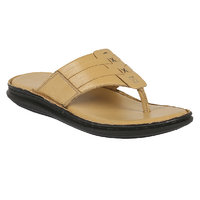 Shoe Bazar MenS Beige Casual Slip On Sandals (sb-1960-beige)