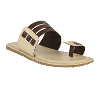 Shoe Bazar MenS Beige Casual Slip On Sandals (sb-959-beige)