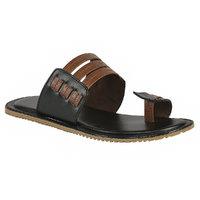 Shoe Bazar MenS Black Casual Slip On Sandals (sb-959-black)