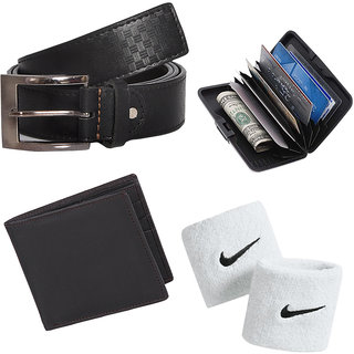 Buy Belt With Mens Accessories (Synthetic leather/Rexine)