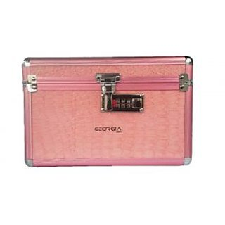 Phoenix International Vanity Box Pink Colour Makeup Vanity Multi Purpose