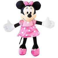 Cute Minnie Mouse dressed in Pink