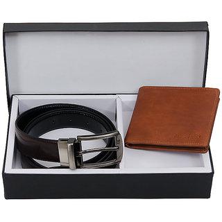 Allure Design Mens Wallet Belt Combo
