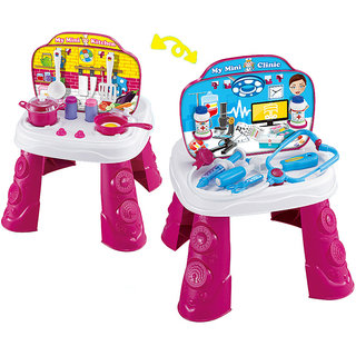 Saffire 2 in 1 Doctor and Kitchen Set