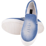 Berry Purple WomenS Blue Slip On Casual Shoes (HMP964)