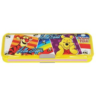 Contact Seller Disney Winnie the Pooh Double Sided Pencil Box
