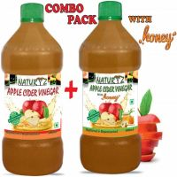 APPLE CIDER VINEGAR WITH HONEY 500mL + APPLE CIDER VINEGAR 500mL