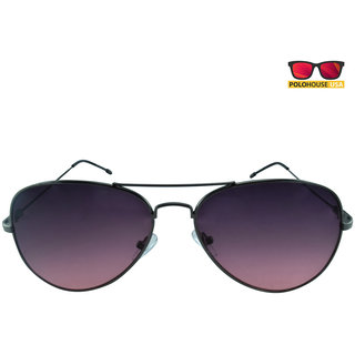 Polo House USA Unisex Aviator Sunglass