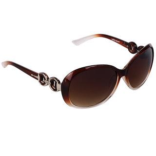 Pede Milan Brown Cat-eye Sunglass-PM-281-Butterfly-Women-Brown