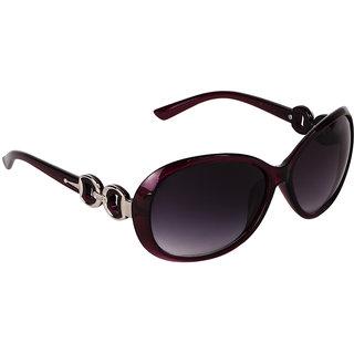 Pede Milan Purple Cat-eye Sunglass-PM-282-Butterfly-Women-MaroonPurple