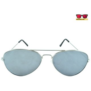 Polo House USA Mens Sunglasses ,Color-Silver TiidaSilSilmer