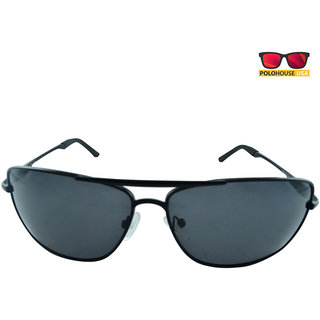 Polo House USA Mens Sunglasses ,Color-black TrackPolar3006black