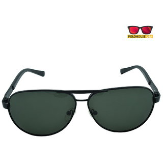 Polo House USA Mens Sunglasses ,Color-Black Sports2Blblack