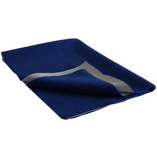 Dream Care Ninnu  Water Proof Large Size 140x100cm Royal Blue Baby Sheet