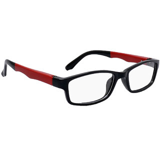 OE Flapper Black FPT-151-44 Unisex Rectangle Frame OE-1193