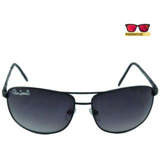 Polo House USA Mens Sunglasses ,Color-Black Grey RicaLew1074Mblackgrey