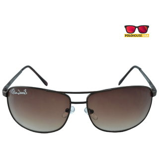 Polo House USA Mens Sunglasses ,Color-Brown Brown RicaLew1074brbrown