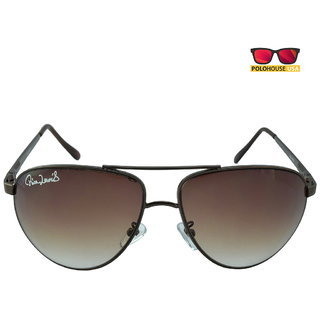 Polo House USA Mens Sunglasses ,Color-Brown Brown RicaLew1075brbrown