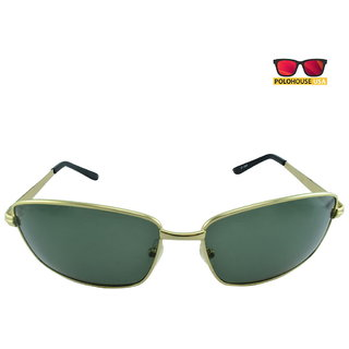 Polo House USA Mens Sunglasses ,Color-Gold  ShengP2802gold