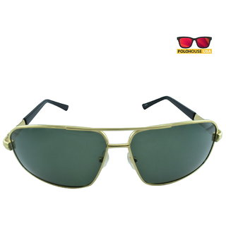 Polo House USA Mens Sunglasses ,Color-Gold  ShengP8816gold