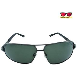 Polo House USA Mens Sunglasses ,Color-Black ShengP8816gun