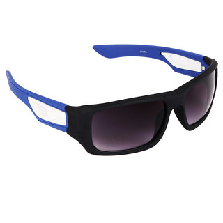 Pede Milan Purple Oval Sunglass-PM-219-Sports-BlackBluePurple