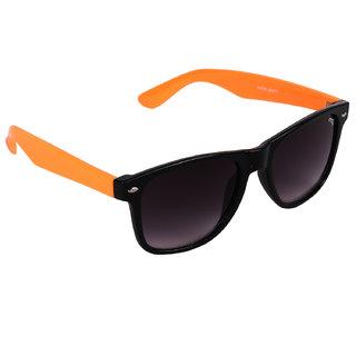 Pede Milan Maroon Rectangular Sunglass-PM-231-StylishWayfarer-BlackOrangeMaroon