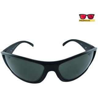 Polo House USA Mens Sunglasses ,Color-Black Green Sports5Blgreen