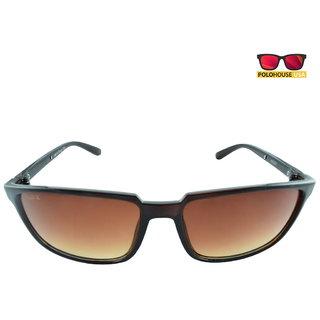 Polo House USA Mens Sunglasses ,Color-Brown Brown WayX2002brbrown