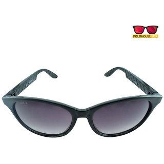 Polo House USA Mens Sunglasses ,Color-Black Grey WayX2003blgrey