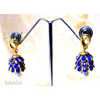 kundan, pearl & stones Earrings