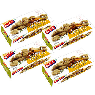 Bikano Pudina Mathri 200 gm (Pack of 4)